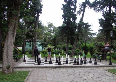 Batumi - utcai sakk