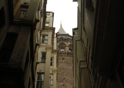 Isztambul - Galata torony