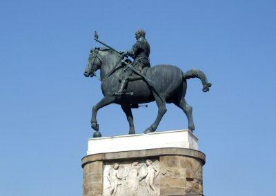 Padova, lovas szobor