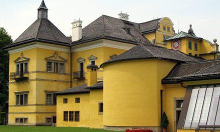 Hellbrunni kastély – ezt nem úszód meg szárazon